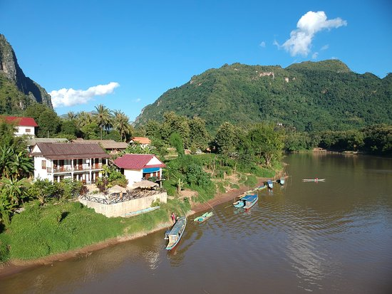 Nam Ou River Lodge: l hôtel face à la rivière