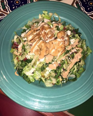 Collegeville, Pensylwania: Spicy shrimp salad