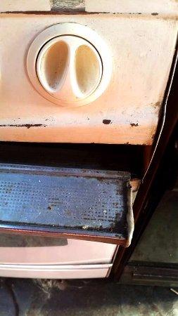 Alaska Hostel: Oven