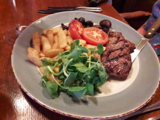 Forest Row, UK: Steak & Chips