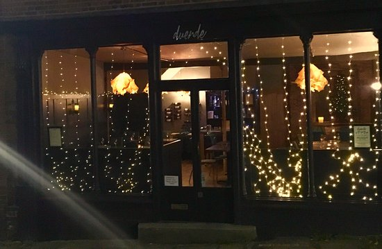 Wiveliscombe, UK: Getting twinkly for Christmas