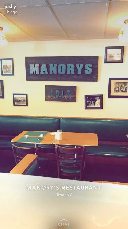 "Manory's Restaurant: ""The back"""