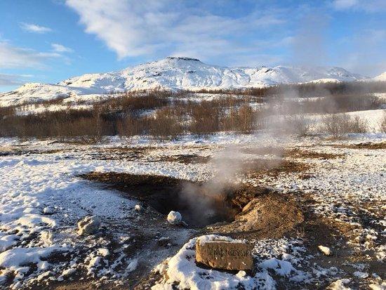 Mosfellsbaer, Islandia: Geysir, Islandia