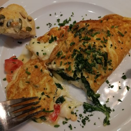 Grand Hotel Bohemia : omeleta