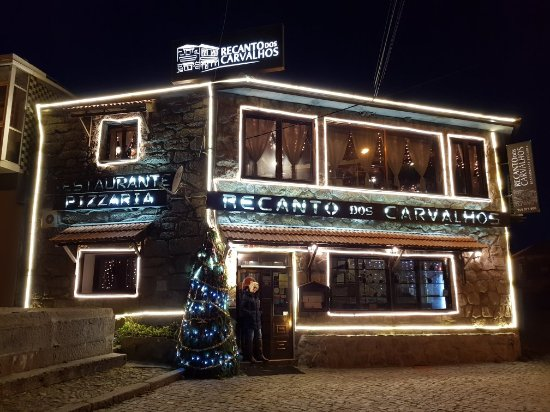 Cinfaes, Πορτογαλία: Natal no Restaurante Recanto dos Carvalhos