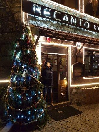 Cinfães, Portugal: Natal no Restaurante Recanto dos Carvalhos
