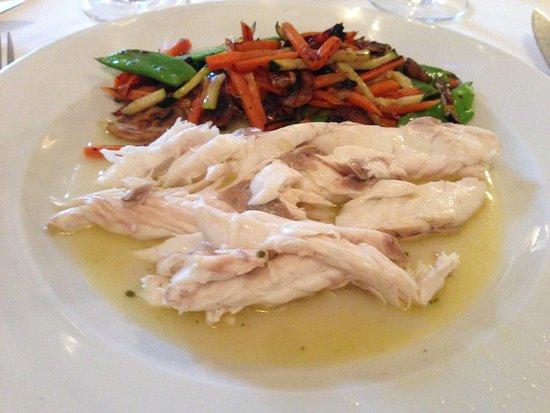 Clivia: Lubina con verduras asadas