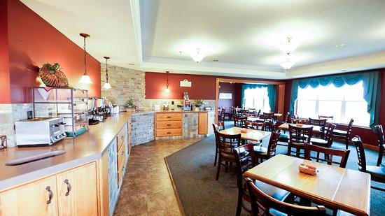 Van Buren Hotel Breakfast Room