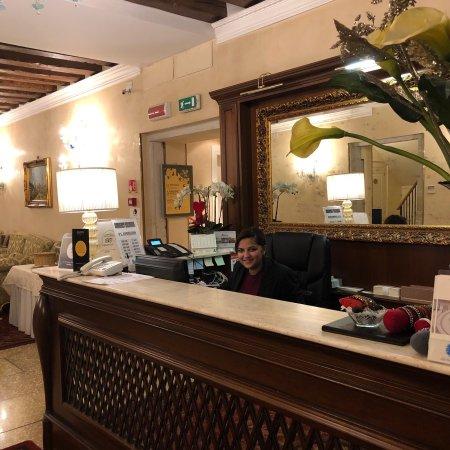 Hotel Al Duca di Venezia: What a great hotel, service withsmile from Michelle and Alicia front desk & Debra at the restaur