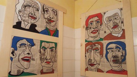 Osteria Nascosta: in bagno