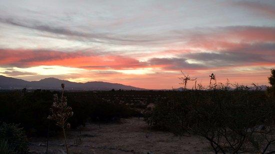 Santa Teresa, نيو مكسيكو: Sunrise from patio