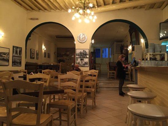 Madoupas Cafe: interior