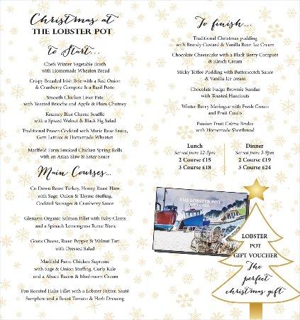 Strangford, UK: Christmas The Lobster Pot Strangford
