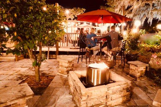 Sebring, FL: Our Garden fire pit