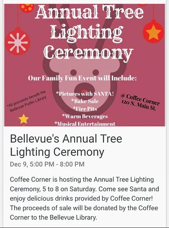Bellevue, ID: Join the holiday fun at the Coffee Corner!