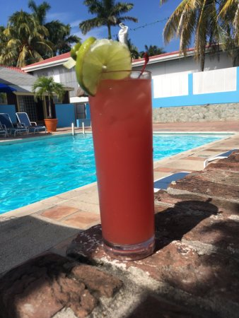 Radisson Fort George Hotel and Marina: Drinks by the pool