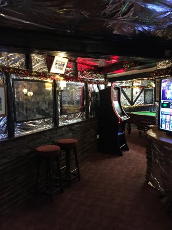 The White Hart : The Games room at Christmas