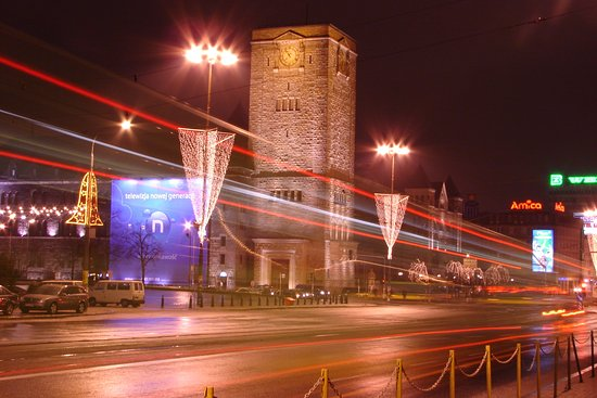 City Guide Poznan Tours: The Castle District by night