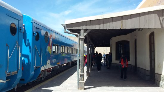 Train to the Clouds: Estación San Antonio de Los Cobres