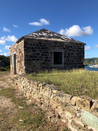 English Harbour, Antigua: The Fort