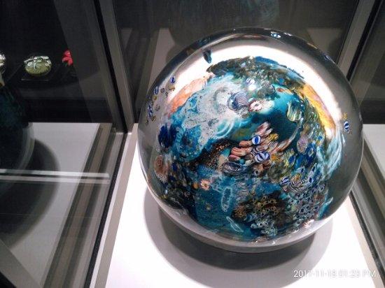 Corning, Nova York: globe