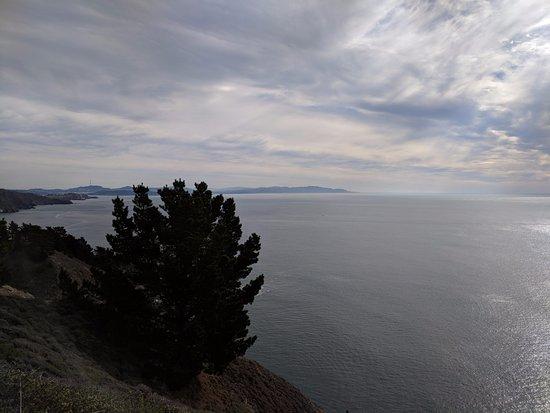 Muir Beach, CA: view