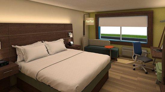 Ogallala, Νεμπράσκα: Guest room
