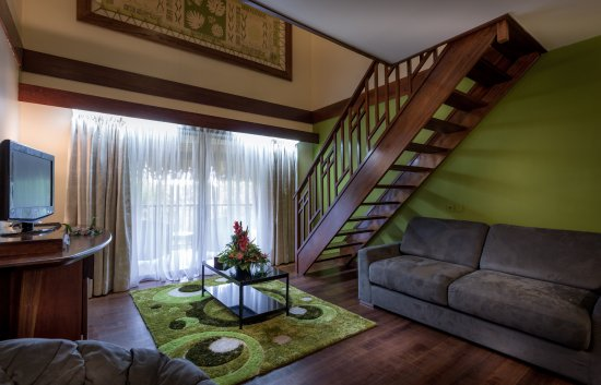 Manava Beach Resort & Spa - Moorea : Duplex room with kitchenette