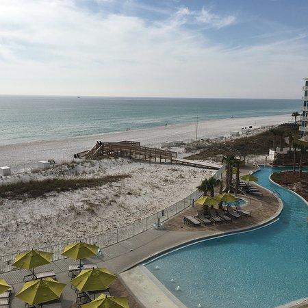 King Gulf View With Balcony Picture Of Hilton Garden Inn Fort Walton Beach Fort Walton Beach