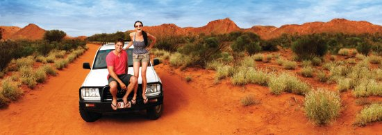 Tennant Creek, Australia: Red_Centre_drive