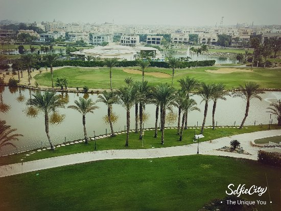 JW Marriott Hotel Cairo: The view from my room at the JW Marriott