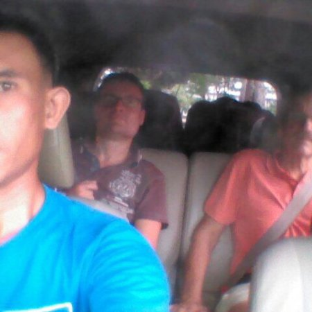 Akin the driver when had job transfer to Juanda airport from