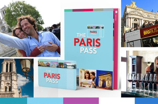 Paris Pass Including Hop-On Hop-Off Bus Tour and Entry to Over 60...
