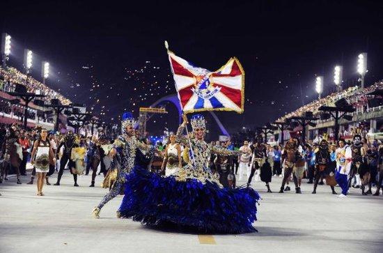 Rio de Janeiro Karneval Parade und...