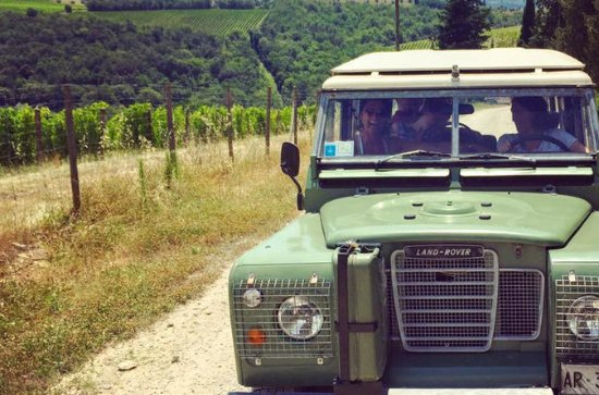 Off Road Wine Tour i Chianti Valley...