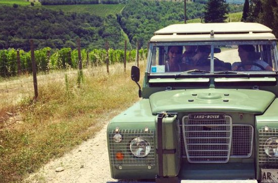 Off Road Wine Tour in Chianti Valley...