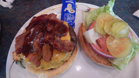 Amargosa Valley, NV: Burger western cheddar