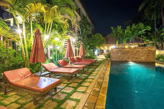 Mudra Angkor Boutique Hotel: Pool