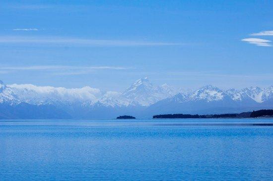Canterbury, Nieuw-Zeeland: 海天一色
