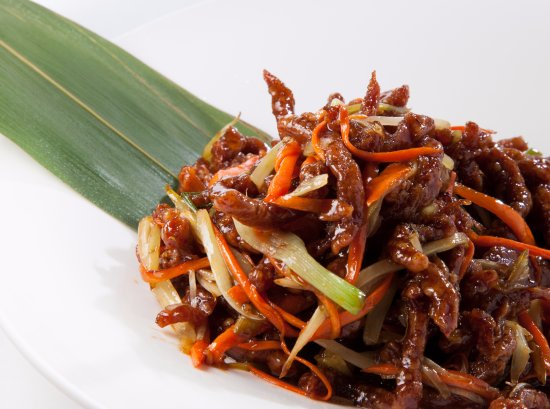 Armonk, NY: Szechuan Crispy Shredded Dried Beef