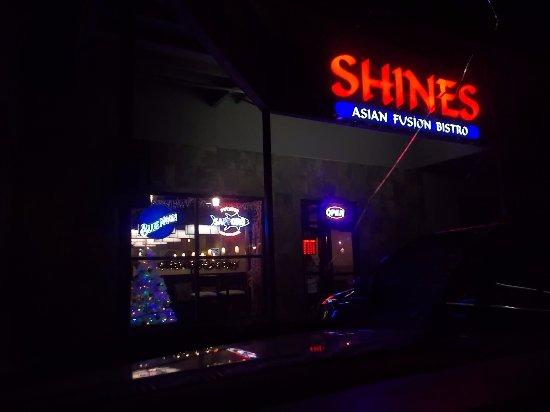 Shine's Asian Fusion Bistro, Old Glenn Hwy, Eagle River, Alaska.