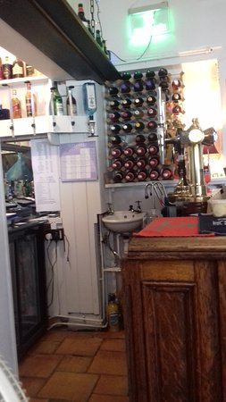 Grimston, UK : On Site Bar well stocked Wines Spirits and Real ale's
