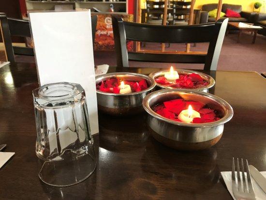 Gisborne, Nueva Zelanda: EVENING DINING TABLE DIWALI THEME NIGHT