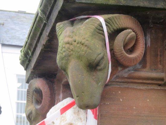 Dumfries, UK: rams head