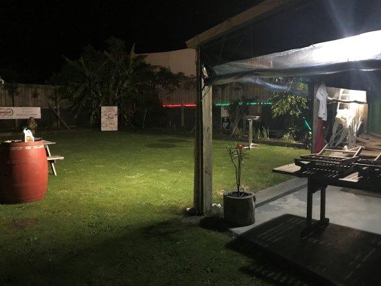 Gisborne, Nueva Zelanda: GARDEN OUTSIDE FOR BIG PARTY