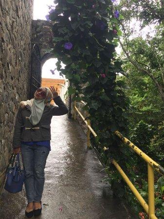 Kundasang War Memorial: pathway