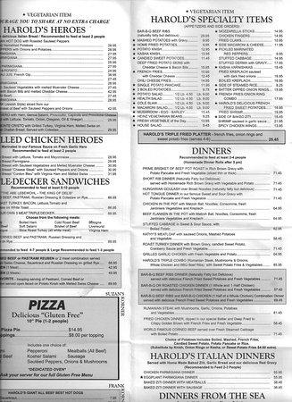 The Edison Menu | Disney Springs Restaurant