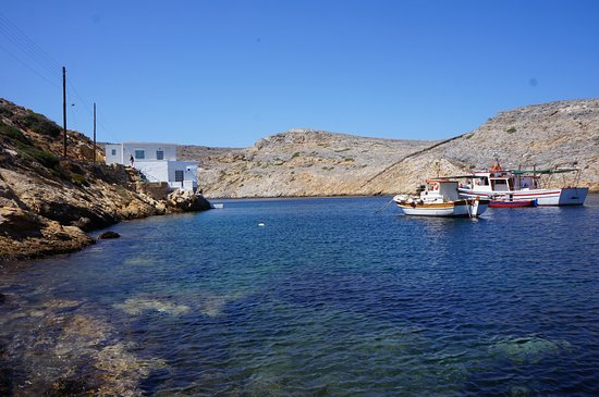 Sifnos, Grecia: Something was going on in this area...