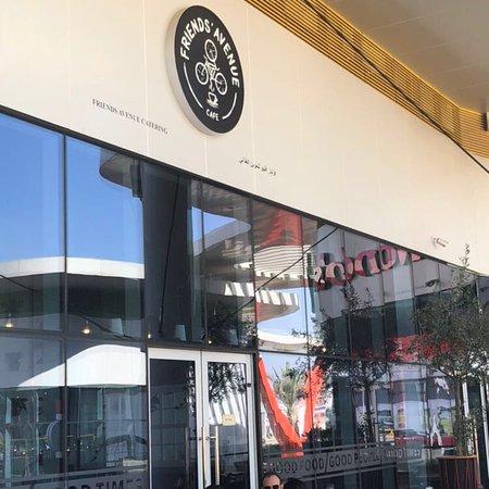 Friends Avenue Cafe Motor City Dubai Restaurant
