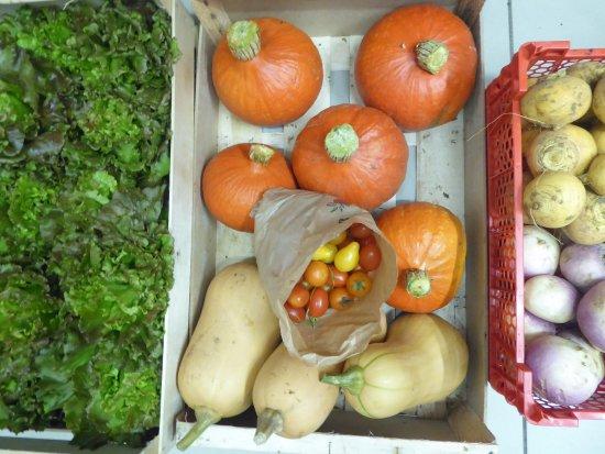 Herouville-Saint-Clair, ฝรั่งเศส: Légumes frais